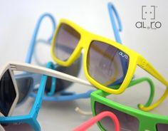 Al e Ro rubber sunglasses
