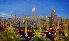 230 Fifth RoofTop Bar - Flatiron: $55 for $100 Worth of Rooftop-Lounge Food and Drinks at 230 Fifth