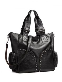 GET $50 NOW | Join RoseGal: Get YOUR $50 NOW!http://www.rosegal.com/tote/faux-leather-studded-tote-bag-984537.html?seid=2275071rg984537