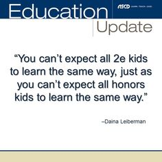 Experts say differentiation could be the key to supporting twice-exceptional students.