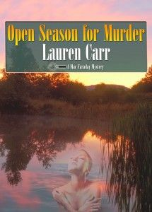Open Season for Murder by Lauren Carr, cover design by Todd Aune.