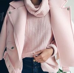 soft pink for winter