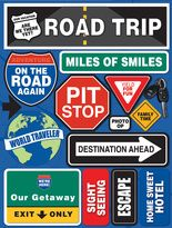 Road Trip schoolwide theme sign ideas