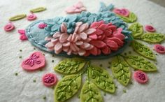 Felt embroidery - AMAZING