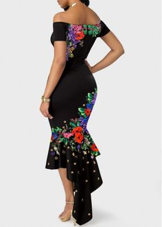 African Vintage Off Shoulder Floral Fashion Dress. Plus Size Available! African Vintage Off Shoulder Floral Fashion Dress. Plus Size Available! Floral Fashion, Women's Fashion Dresses, Sexy Dresses, Summer Dresses, Sheath Dresses, Chiffon Dresses, Sleeve Dresses, Teen Fashion Outfits, Petite Fashion