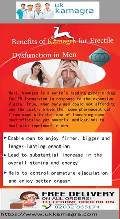 Kamagra tablets for erectile dysfunction contain sildenafil citrate, the same ingredient used in Viagra. The sildenafil is an FDA-approved active ingredient that has been clinically proven to increase nitric oxide levels to improve blood supply within the
