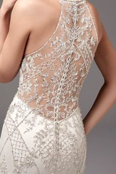 Fall In Love With These Fantastic Details Of Bridal Dresses ❤ See more: http://www.weddingforward.com/bridal-dresses/ #wedding #dress #details