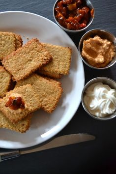 Spicy Cheesy Scottish Oatcakes