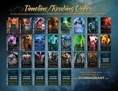 "reading order for the ""Dark"" series (Dark Sword, Dark Warrior, Dark Kings - and now The Seven)"