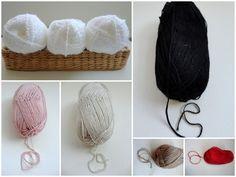 natural antibacterial white bamboo yarn,2 Skeins, Each skein: 100 gr ,ALL SEASONS. $10.00, via Etsy.
