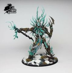 Warhammer Age of Sigmar | Sylvaneth | Treelord Ancient #warhammer #ageofsigmar #aos #sigmar #wh #whfb #gw #gamesworkshop #wellofeternity #miniatures #wargaming #hobby #fantasy