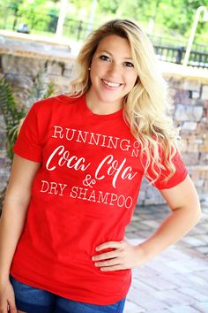 Personalized gifts for all occasions - baby, wedding, graduation and more; Personalized Shirts, Summer Diy, Diy Shirt, Dry Shampoo, Summer Shirts, Monograms, Tropical, V Neck, Running