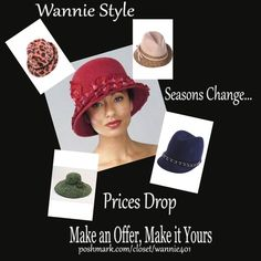 Make an Offer, Make it Yours Season's Change, Prices Drop. Make an Offer on the Winter Items you like in Wannie's Closet. Wannie Style Other