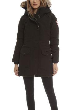 Canada Goose coats sale shop - $335 BUY Canada Goose Trillium Parka Graphite Women FREE SHIPPING ...