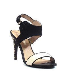Love this White & Black Jelly Sandal on #zulily! #zulilyfinds