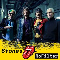 The Rolling Stones Announces No Filter European Tour #therollingstones #StonesNoFilter #NoFilter