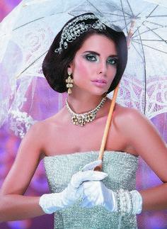 Richard Designs headdress TR1518A featured in Asiana Wedding Magazine