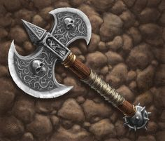 Battle Axe from the Talisman board game: The City expansion