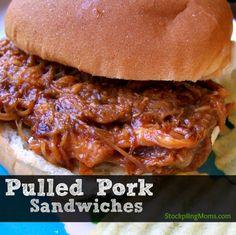 Crockpot Pulled Pork Sandwich is delish!