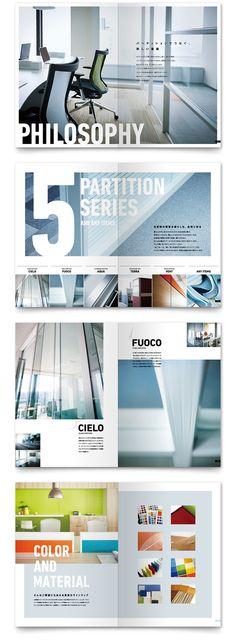 インテリアメーカー リブランディングカタログ Editorial Layout, Editorial Design, Page Design, Book Design, Design De Configuration, Booklet Layout, Catalogue Layout, Pamphlet Design, Design Brochure