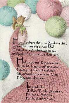 #gedicht #reim #geschichte #kita #kindergarten #erziehung #musik #lied #morgenkreis #bewegungserziehung #kreisspiel #tiere