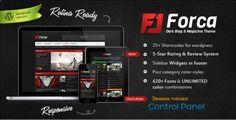 Download Forca - Responsive News/Magazine Theme Free