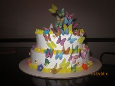Butterfly cake i made for my daughter's birthday.