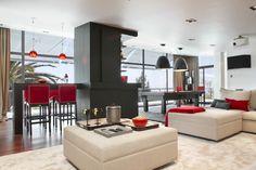 Molins Interiors // arquitectura interior - interiorismo - decoración - salón - sala de juegos - billar - barra - sofá