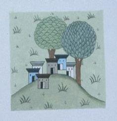 Cahide Keskiner - Minyatür Sanatında Doğa Çizim ve Boyama Teknikleri Matrakçı'dan detay Beyan-ı Menazil-i Sefer-i Irakeyn