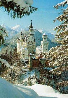 Neuschwanstein Castle, Germany - been there and it is breath taking!