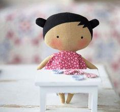 Tildas Toy Box 2015 - baby Tilda pattern