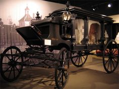 A Hearse from the early 1900