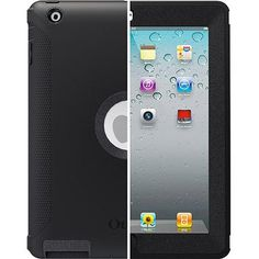 OtterBox Defender for Apple iPad 3 and 2, Black wm 55