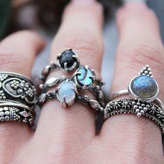 Dream Destroyer Abalone Ring