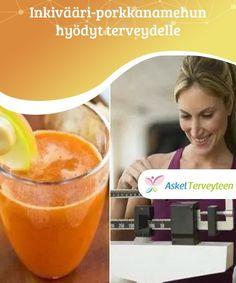 Inkivääri-porkkanamehun hyödyt terveydelle Inkivääri-porkkanamehu auttaa vähentämään kiloja samalla kun se parantaa tehokkaasti terveyttä. Tämä on loistava juoma ruokahalun pitämiseksi hallinnassa ja ylimääräisten nesteiden poistamiseksi kehosta. Opi, Cantaloupe, Fruit