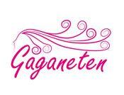 Logo ontwerp voor vrijtijddsgroep Gaganeten. Door reclamebureau Gaai.
