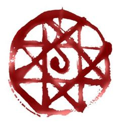 Alphonse Elric's blood seal (transmutation circle) #fma