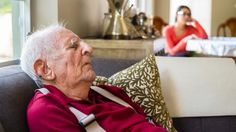 Caregivers should watch their patients closely, as certain warning signs for Alzheimer's can involve sleeping habits: http://www.md.com/healthtips/alzheimer-s-disease-can-interfere-with-sleep-2016-03-18