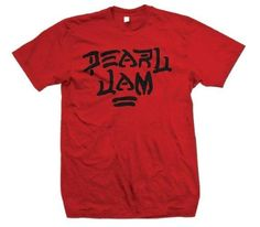 Save $15.60 on Pearl Jam 'Destroy' Red T-shirt; only $14.35