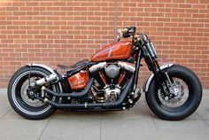 Wow great softail bobber - Cool Cars & Motorcycles - Carzz - Bobbers, Twin and Monsters Softail Bobber, Motos Bobber, Bobber Bikes, Harley Bobber, Harley Bikes, Bobber Chopper, Motos Harley Davidson, Indian Motorcycles, Cool Motorcycles