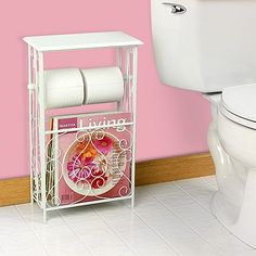 20 Practical and Creative Ways to Store Toilet Paper