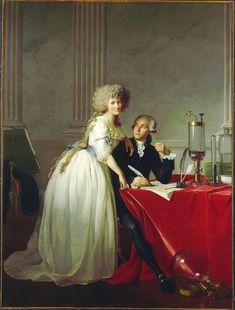 Ritratto di Antonie Laurent Lavoisier e sua moglie, 1788, olio su tela, Metropolitan Museum of Art