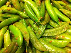 Curried Sugar Snap Peas