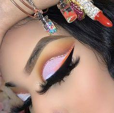 Soft Eye Makeup, Beautiful Eye Makeup, Flawless Makeup, Eyeshadow Makeup, Cute Makeup Looks, Makeup Eye Looks, Black Girl Makeup, Girls Makeup, Star Makeup