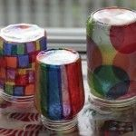 Tissue Jar Lanterns