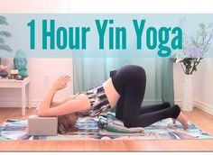 1 Hour Yin Yoga Class for Flexibility - Full Body Deep Stretch