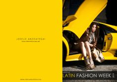 Yellow Lamborghini and Latin Fashion....