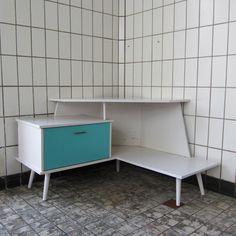 Vintage hoekmeubel tv