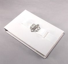 Beverly Clark Crowned Jewel Guest Book | Royal Guest Books | Crown Guest books
