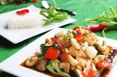 Unislim Chicken and Cashew Nuts